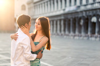 Prewedding in Venice for a couple from Kazakhstan