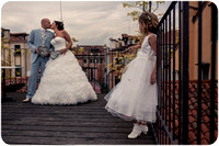 Wedding in Venice with children