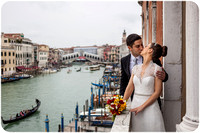 Wedding in Venice with a couple from Portugal