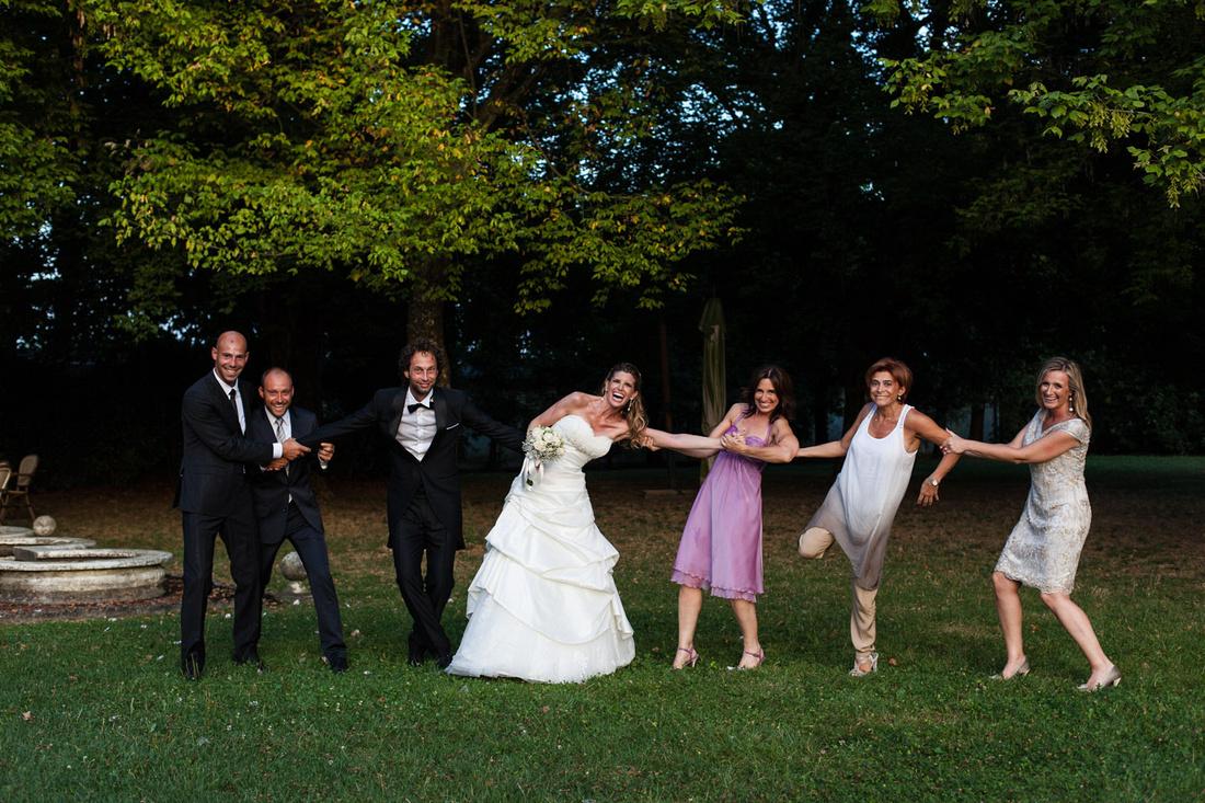 fun ad a wedding