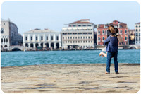 March Surprise wedding Proposal in Venice